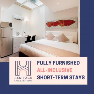 short-term rental, Short-term apartment rental & flexible lease terms