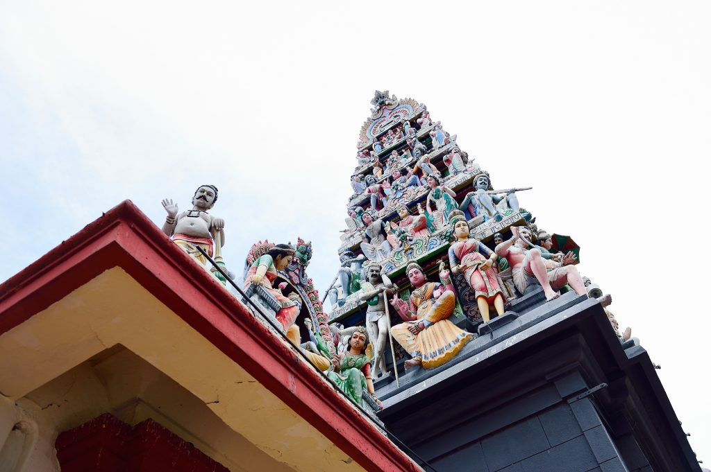 , Step into Singapore's oldest Hindu Temple!