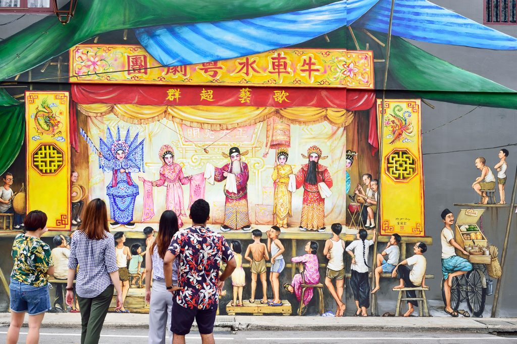 , Yip Yew Chong's Heritage Mural Trail