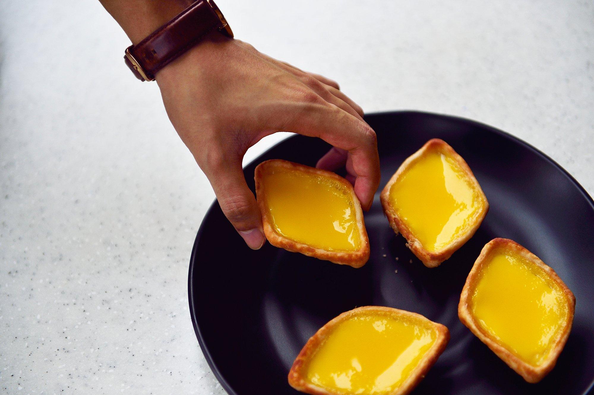 Get your quick fix at Tong Heng Egg Tarts