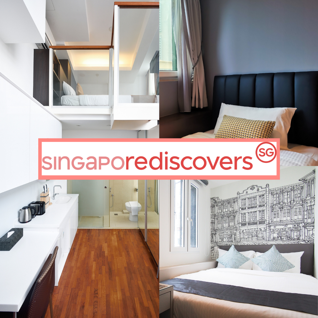 Affordable and unique staycations with your SingapoRediscovers Vouchers!