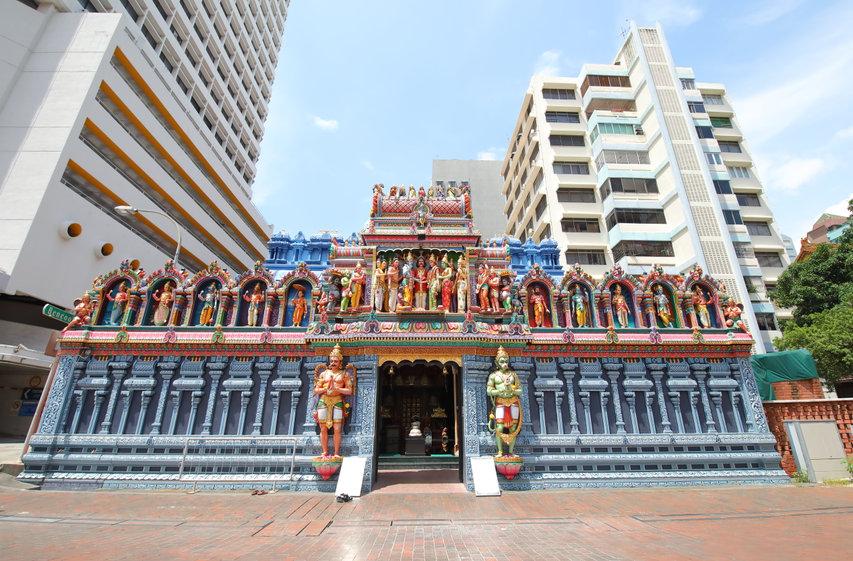 sri krishnan temple, bugis singapore