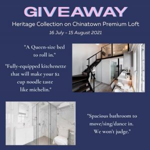 Heritage Collection on Chinatown Premium Loft, FREE 2D1N stay at Chinatown Premium Loft!